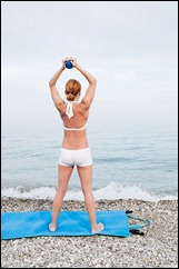 зарядка у моря - фитнес-тур