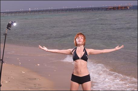 Фитнес у моря