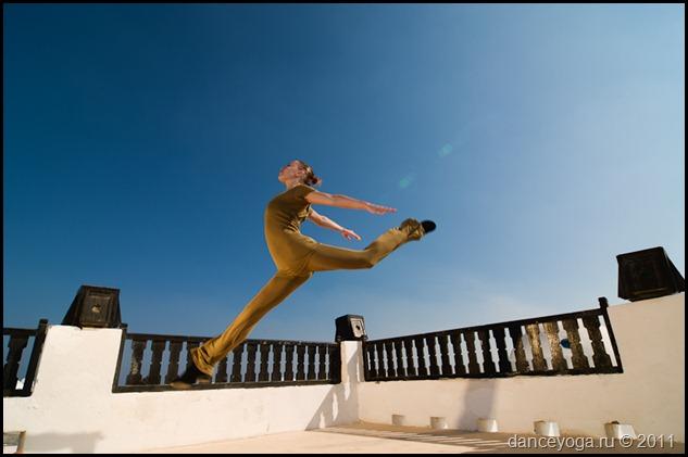 yoga dancer