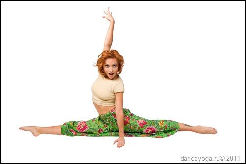 Катерина Буйда, йога танец