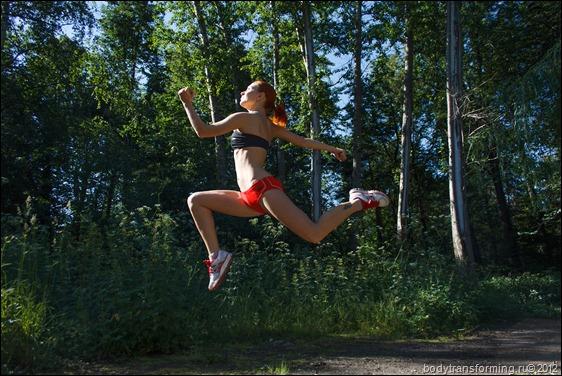 Интервальный бег против целлюлита!