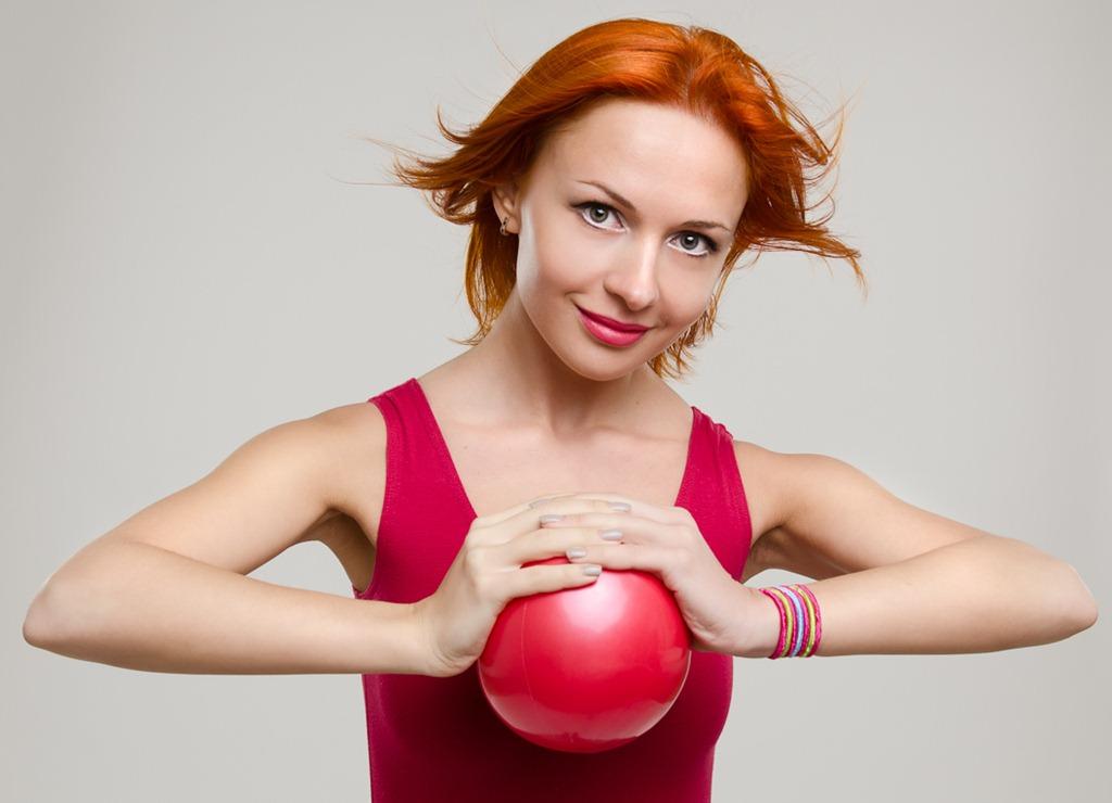 Бодитрансформинг для всего тела. Упражнения с мячом